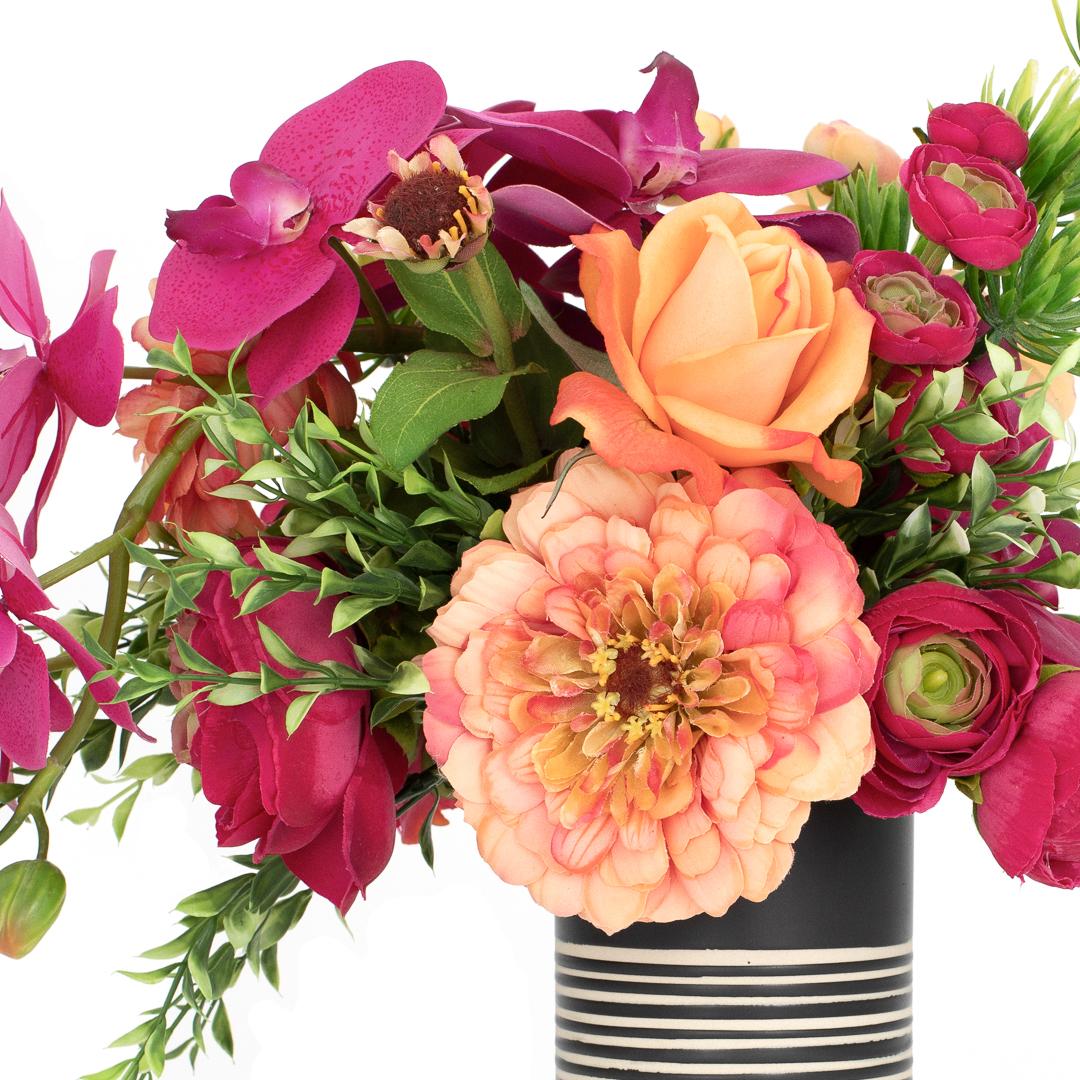 Tropical Artificial Floral Arrangement Lola The Blumerie Ultra Realistic Modern Artificial Flowers