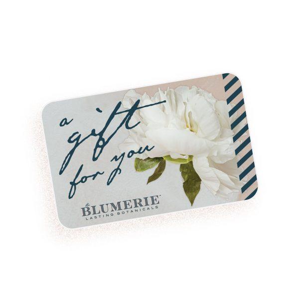 Photo of a Blumerie gift card